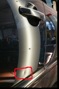 Dellentechnik, Mit der Lackschadensfreien Ausbeultechnik ist es möglich Parkplatzdellen, Hagelschäden sowie Transportschäden, OHNE aufwendige und oft teure Lackierarbeiten zu entfernen.